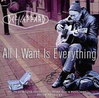 All I Want Is Everything (Def Leppard song) - Image: Def Leppard All Iwant lepdd 1