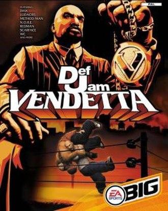 Def Jam Vendetta - Image: Def Jam Vendetta Front Cover NTSC Gamecube