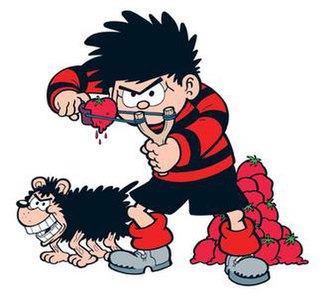 Dennis the Menace and Gnasher - Image: Dennis the Menace and Gnasher the dog
