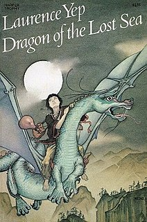 <i>Dragon of the Lost Sea</i> novel by Laurence Yep