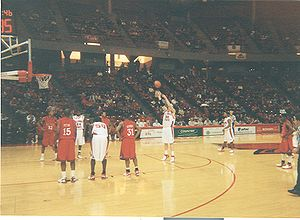 Illinois State Redbirds - Image: Dyer Free Throw