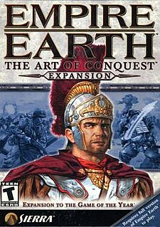<i>Empire Earth: The Art of Conquest</i> 2002 video game