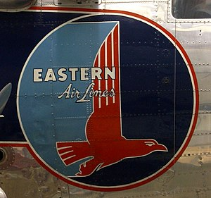 Logo on an Eastern Air Lines DC-3