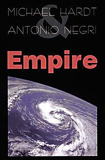 <i>Empire</i> (Hardt and Negri book) book by Antonio Negri and Michael Hardt
