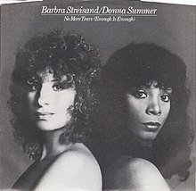 Barbra Streisand and Donna Summer — No More Tears (Enough Is Enough) (studio acapella)