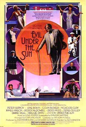 Evil Under the Sun (1982 film) - Original film poster