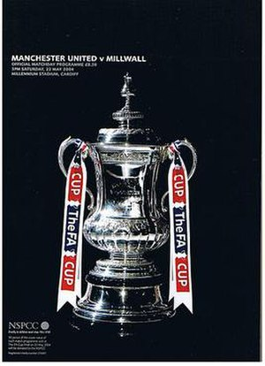 2004 FA Cup Final - Image: FA Cup Programme 2004