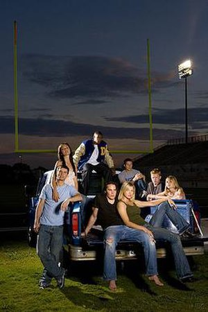 Young members of the Friday Night Lights cast