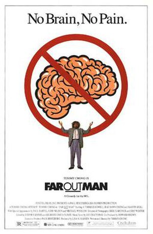 Far Out Man - Theatrical release poster