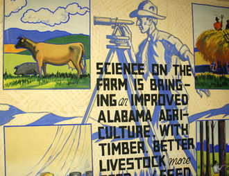 Historical Panorama of Alabama Agriculture - Another depiction of how Alabama was changing as a result of the application of sound agricultural and domestic practices promoted by Cooperative Extension and the land-grant university.