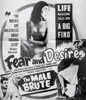 Fear and Desire - Theatrical release poster