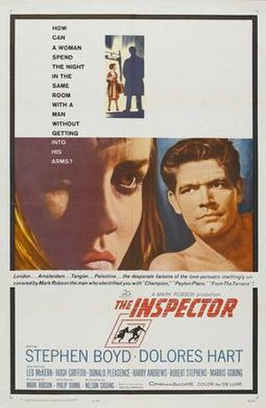 The Inspector (1962 film) - Theatrical release poster