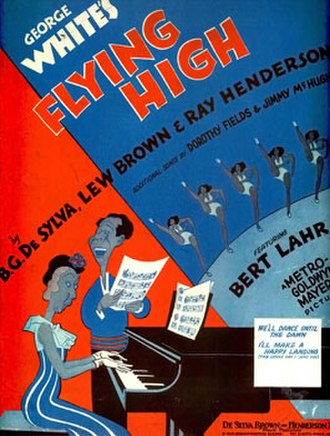 Flying High (1931 film) - Sheet music cover