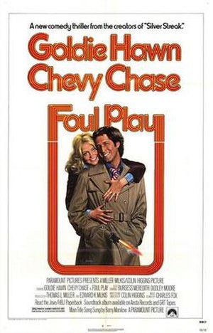 Foul Play (1978 film) - Promotional poster
