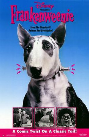 Frankenweenie (1984 film) - Theatrical release poster