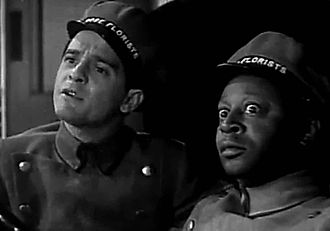 Chasing Trouble - Frankie Darro and Mantan Moreland in Chasing Trouble (1940)