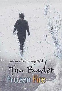 <i>Frozen Fire</i> (novel) novel by Tim Bowler