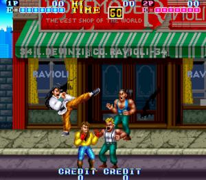 Gang Wars (video game) - Screenshot of Gang Wars.