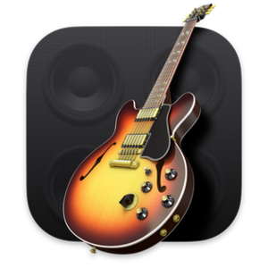 The GarageBand application icon.