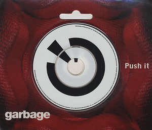 """Push It (Garbage song) - The sealed """"Push It"""" 3"""" CD blister pack format"""