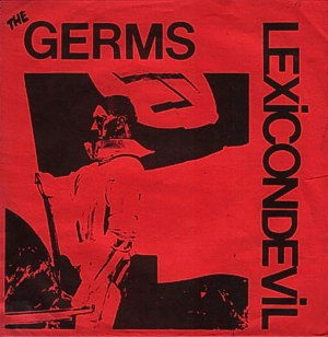 Lexicon Devil - Image: Germs Lexicon Devil EP redsleeve