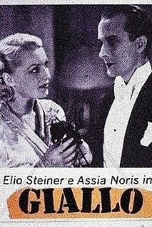 <i>Giallo</i> (1933 film) 1934 film by Mario Camerini
