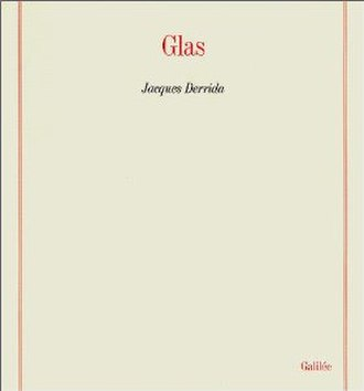 Glas (book) - Cover of the first edition