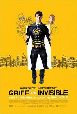 Griff the Invisible - Theatrical release poster