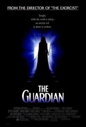 The Guardian (1990 film) - Promotional film poster