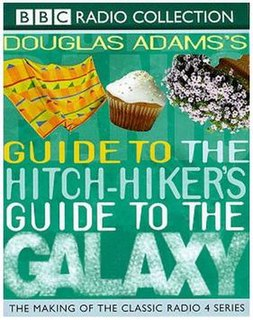 <i>Douglas Adamss Guide to The Hitchhikers Guide to the Galaxy</i> guide by Douglas Adams to The Hitchhikers Guide to the Galaxy