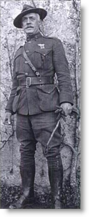 Henry L. Hulbert - Image: Gunner Henry L. Hulbert, USMC 27March 1917
