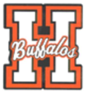 Haltom High School - Image: Haltom Buff logo