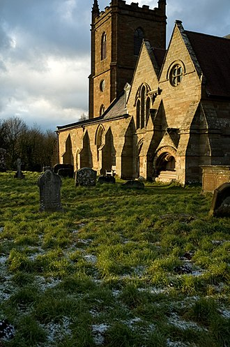 Hanbury, Worcestershire - Church of St Mary the Virgin
