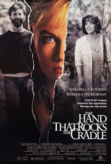 <i>The Hand That Rocks the Cradle</i> (film) 1992 film by Curtis Hanson