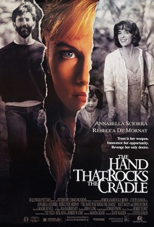 The Hand That Rocks the Cradle (film) - Theatrical release poster