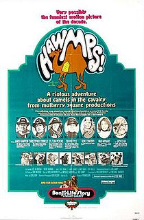 <i>Hawmps!</i> 1976 film by Joe Camp