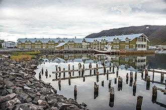 Siglufjörður - The new hotel at Siglufjörður