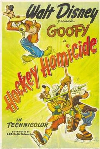 Hockey Homicide - Image: Hockey homicide
