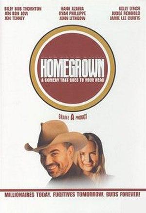 Homegrown (film) - Image: Homegrown poster
