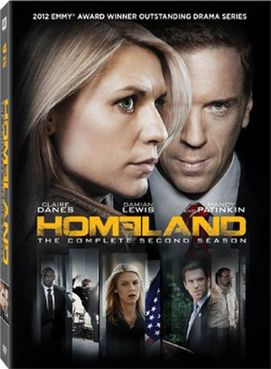 Homeland (season 2) - Image: Homeland S2 DVD