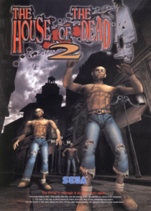 The House of the Dead 2 - Image: House Of The Dead 2, Thelogo