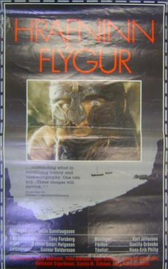 When the Raven Flies - Original theatrical release poster