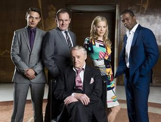 Hustle (TV series) - The main cast of Hustle (series 5–8)