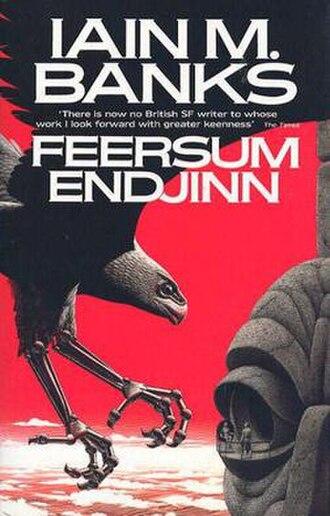 Feersum Endjinn - Cover of first edition (hardcover)