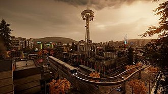 Infamous Second Son - Image: Infamous Second Son game world