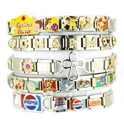 ec1e942ef5f Italian charm bracelet. From Wikipedia ...