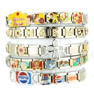 Italian charm bracelet - Italian charm bracelets