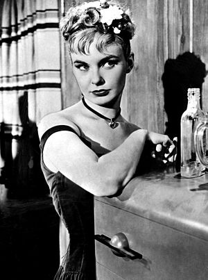 "Joanne Woodward - in The Three Faces of Eve (1957), displaying ""Eve Black"", the 'bad girl' personality"