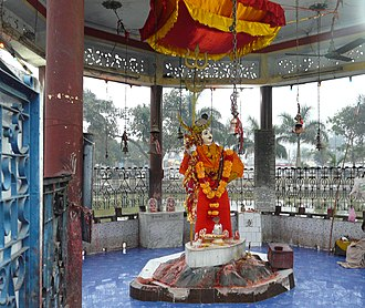 Nepalgunj - The statue of Junge Mahādeva.