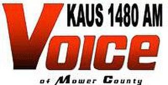 KAUS (AM) - Image: KAUS AM logo